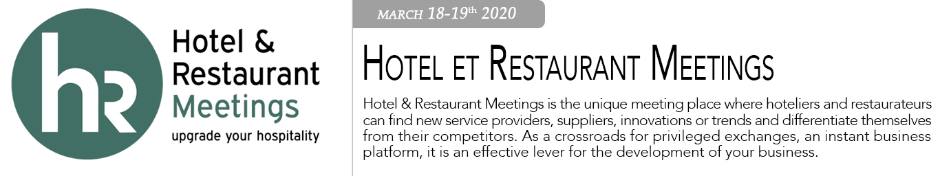 Hotel et Restaurant Meeting