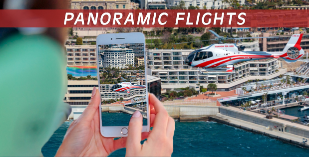 Panoramics Flights - Heli Air Monaco