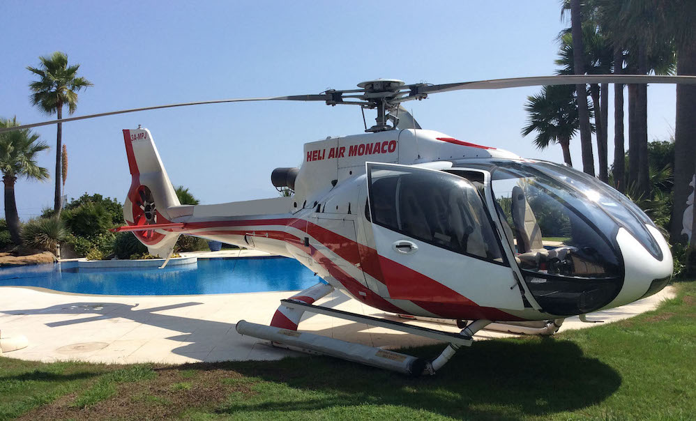 Saint tropez Helicopter transfer- Private villa- Heli Air Monaco